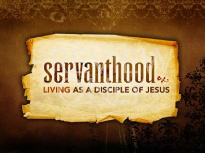 Servanthood-apostleship